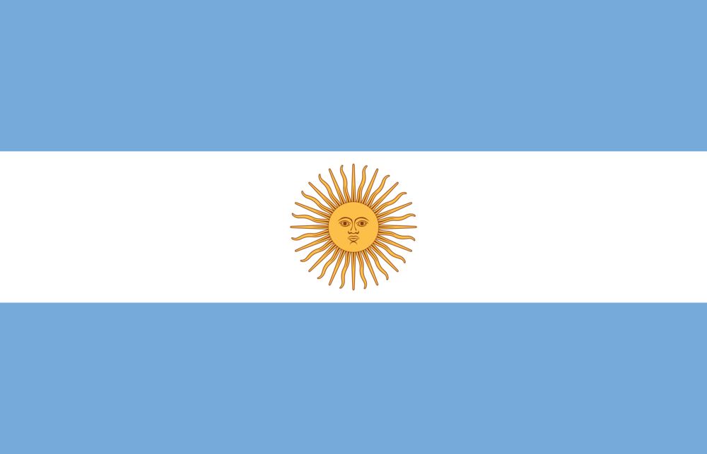 State flag of Argentina