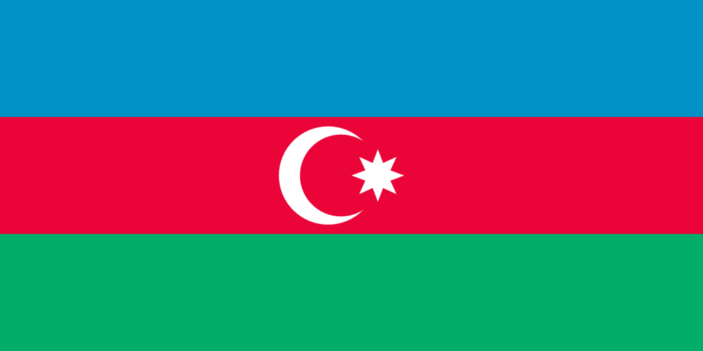 State flag of Azerbaijan