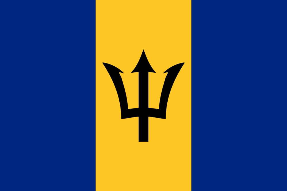 State flag of Barbados