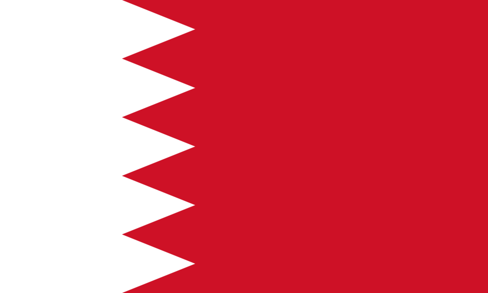 State flag of Bahrain