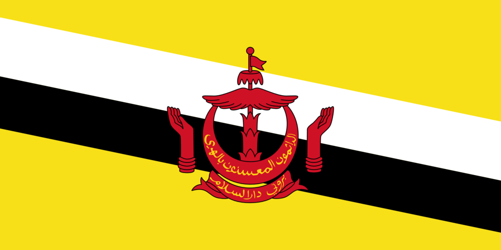 State flag of Brunei