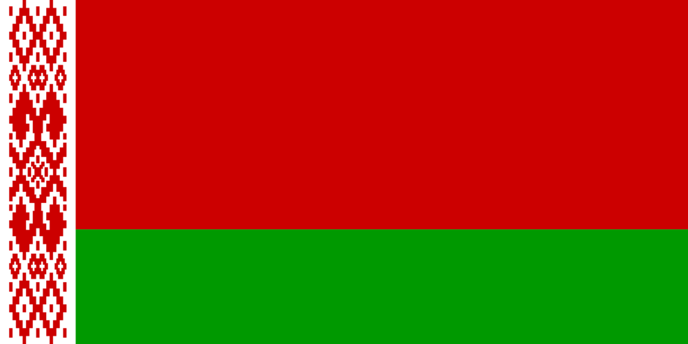 State flag of Belorussia