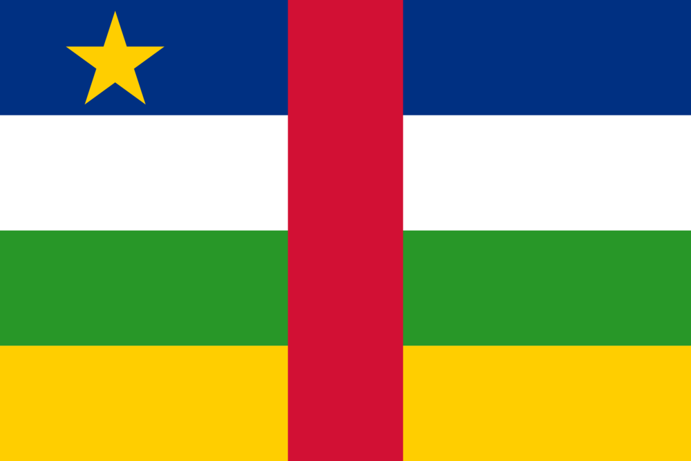 State flag of CAR