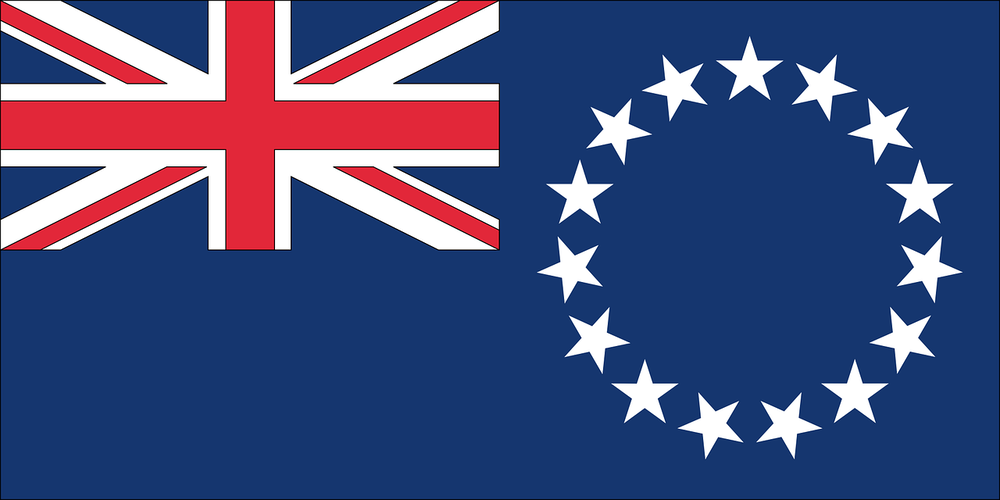 State flag of Cook Islands