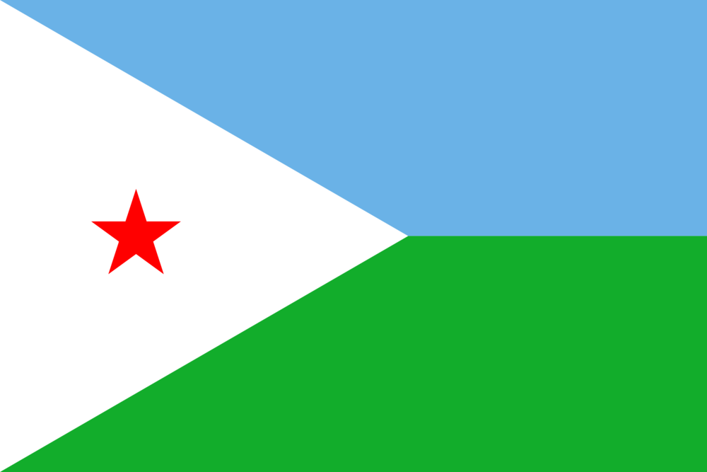 State flag of Djibouti