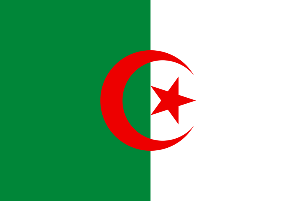State flag of Algeria