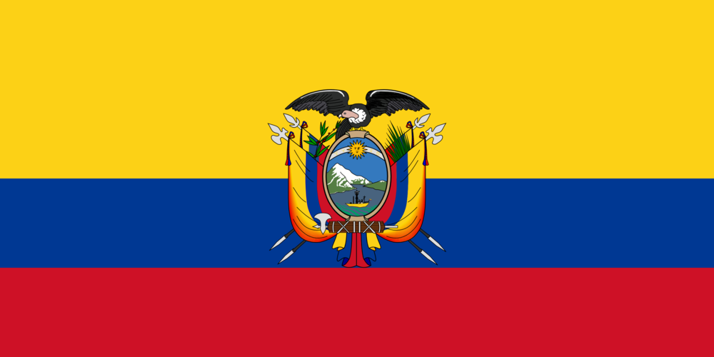 State flag of Ecuador