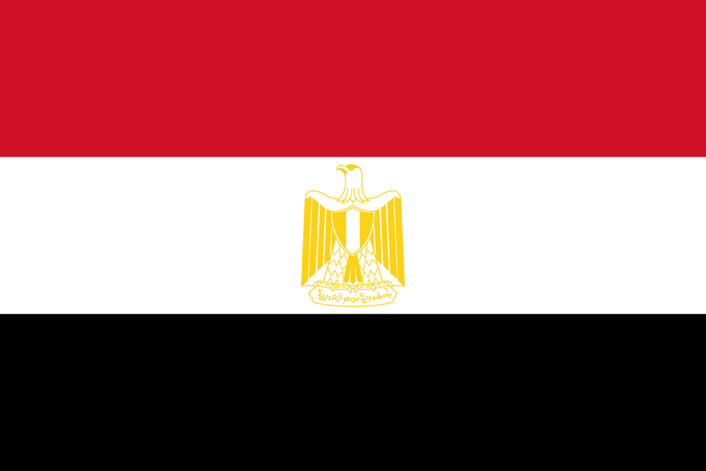 State flag of Egypt