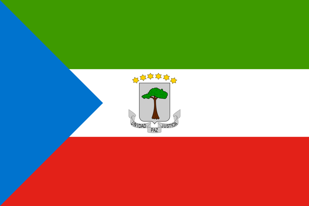 State flag of Equatorial Guinea