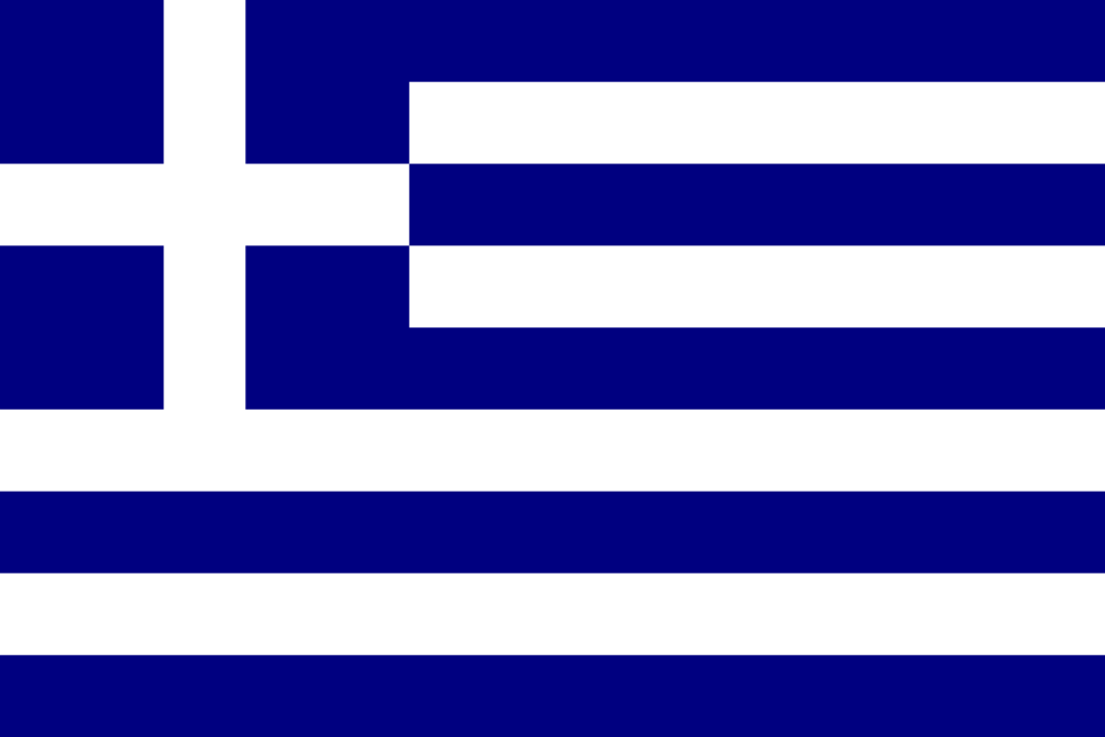 State flag of Greece