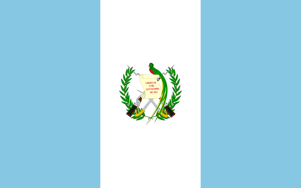 State flag of Guatemala