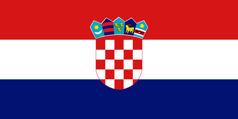 State flag of Croatia