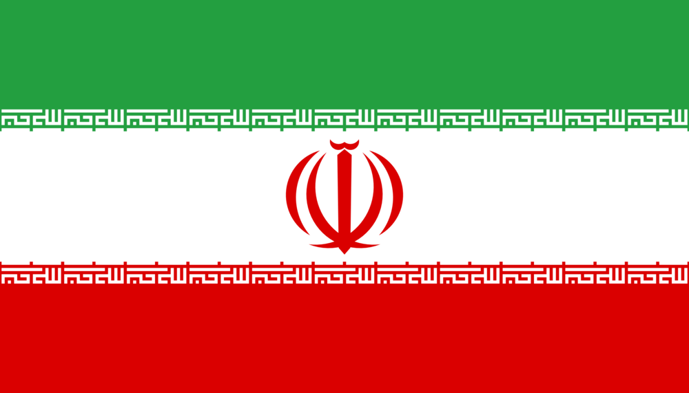 State flag of Iran
