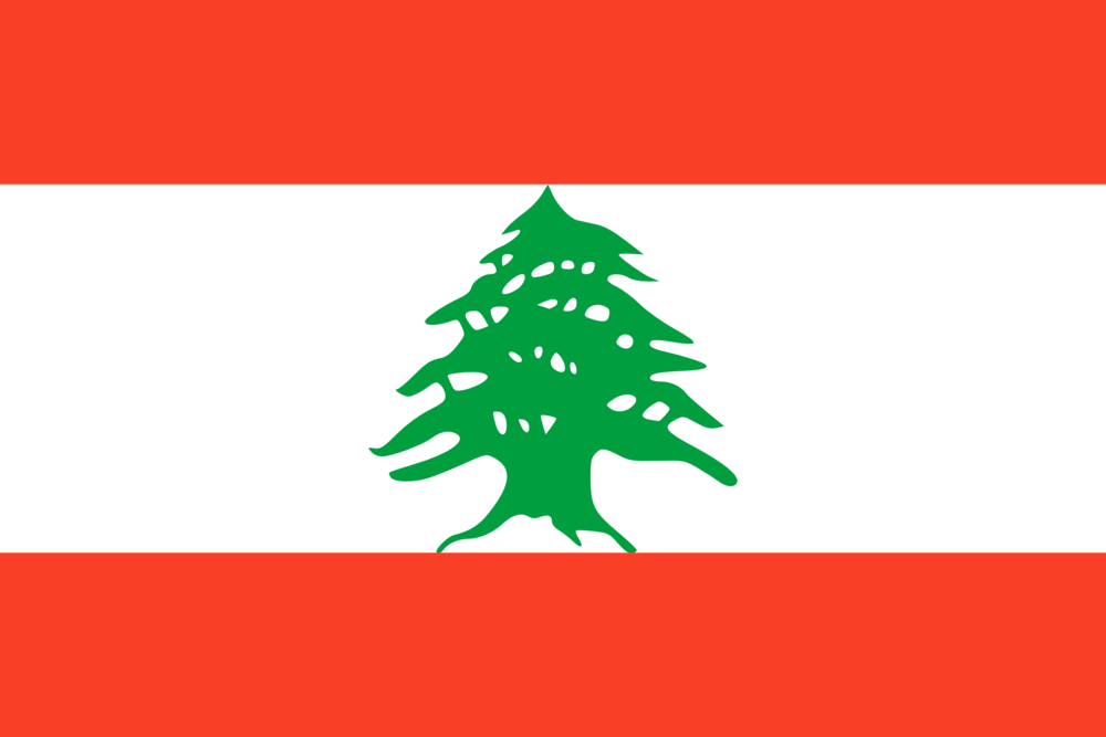 State flag of Lebanon