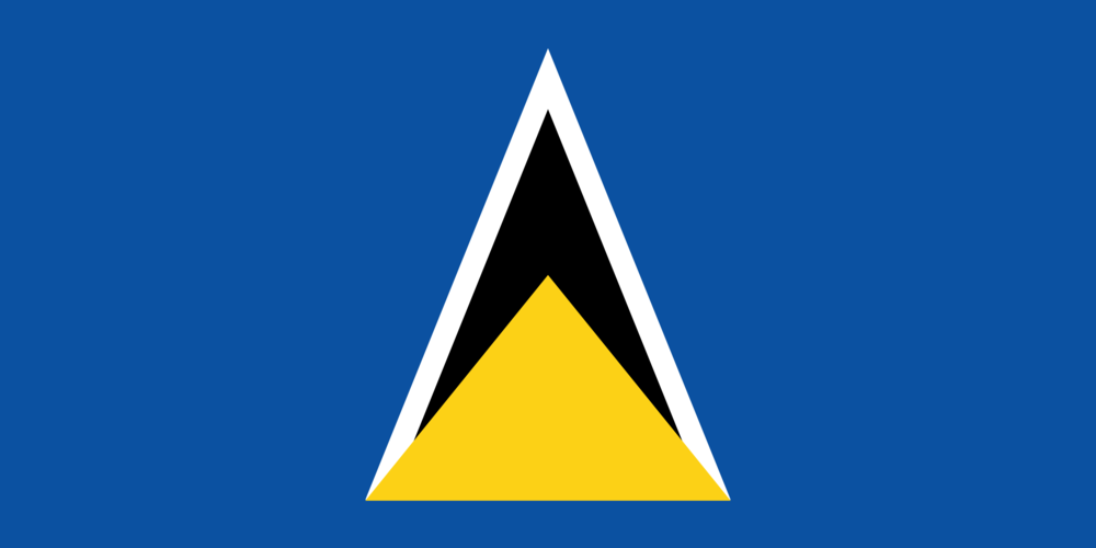 State flag of Saint Lucia