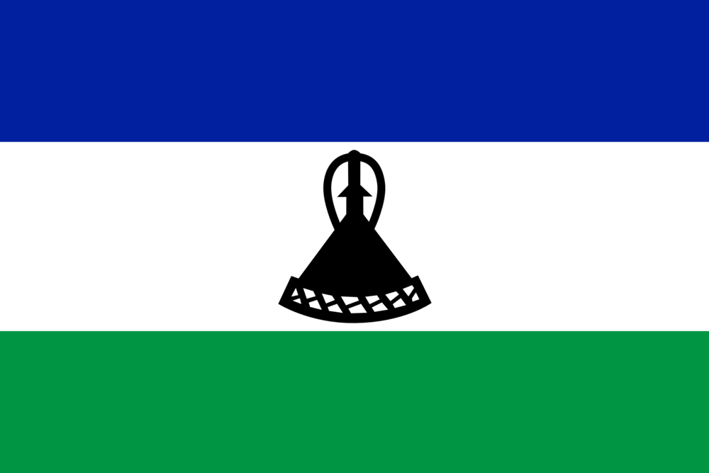 State flag of Lesotho