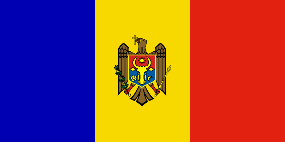 State flag of Moldavia