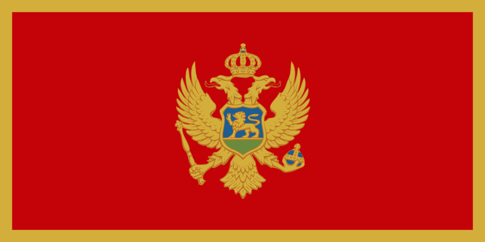 State flag of Montenegro