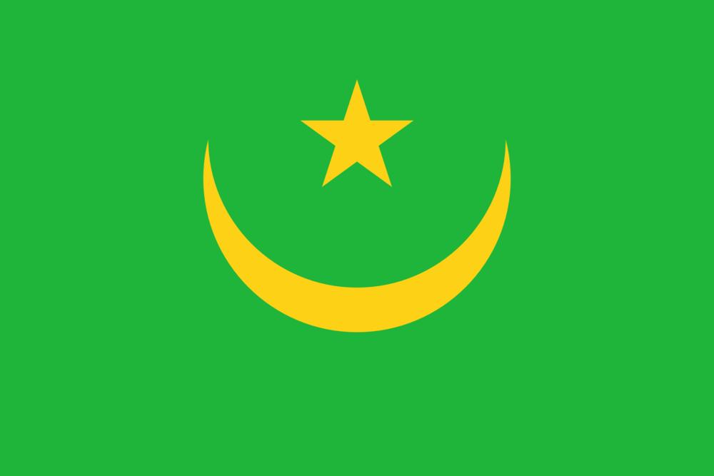 State flag of Mauritania