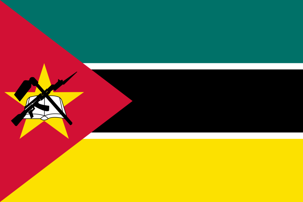 State flag of Mozambique