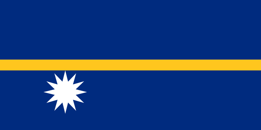 State flag of Nauru