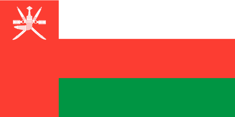 State flag of Oman
