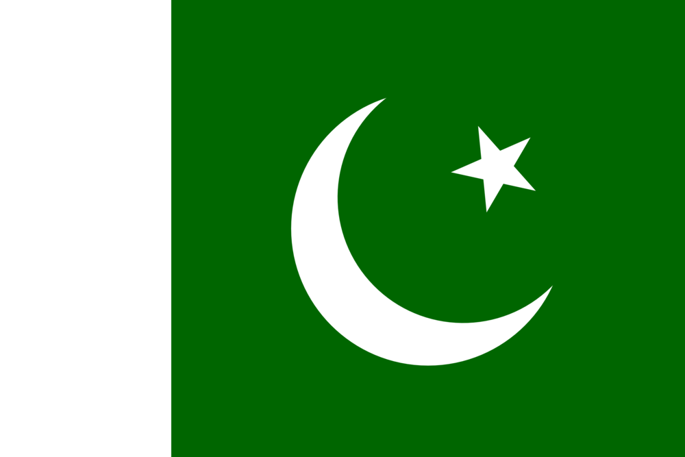 State flag of Pakistan