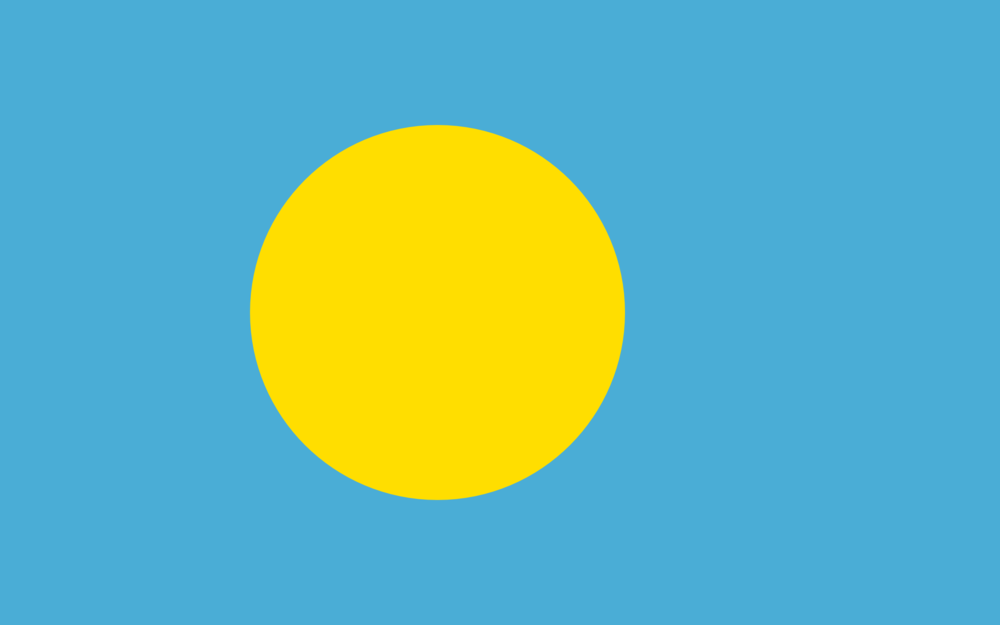 State flag of Palau