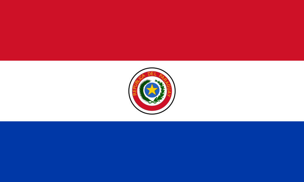 State flag of Paraguay