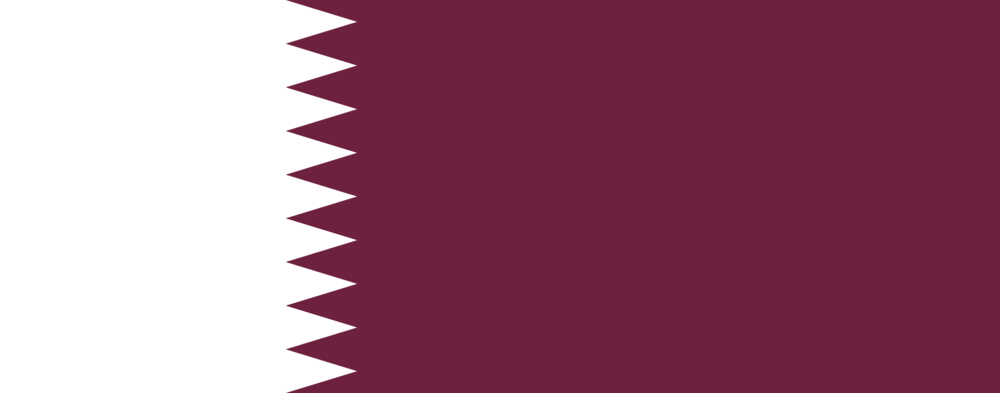 State flag of Qatar