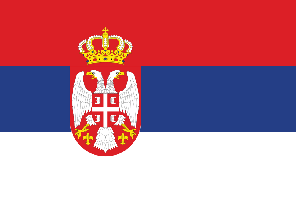 State flag of Serbia