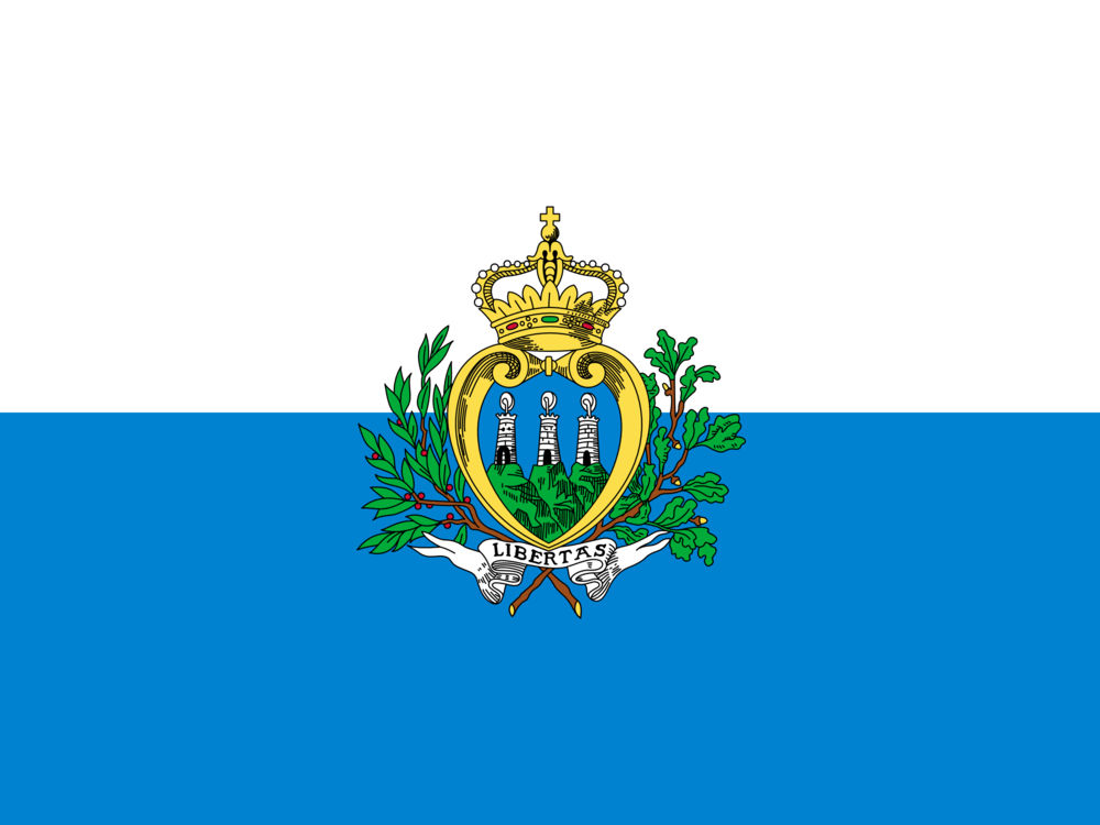 State flag of San marino