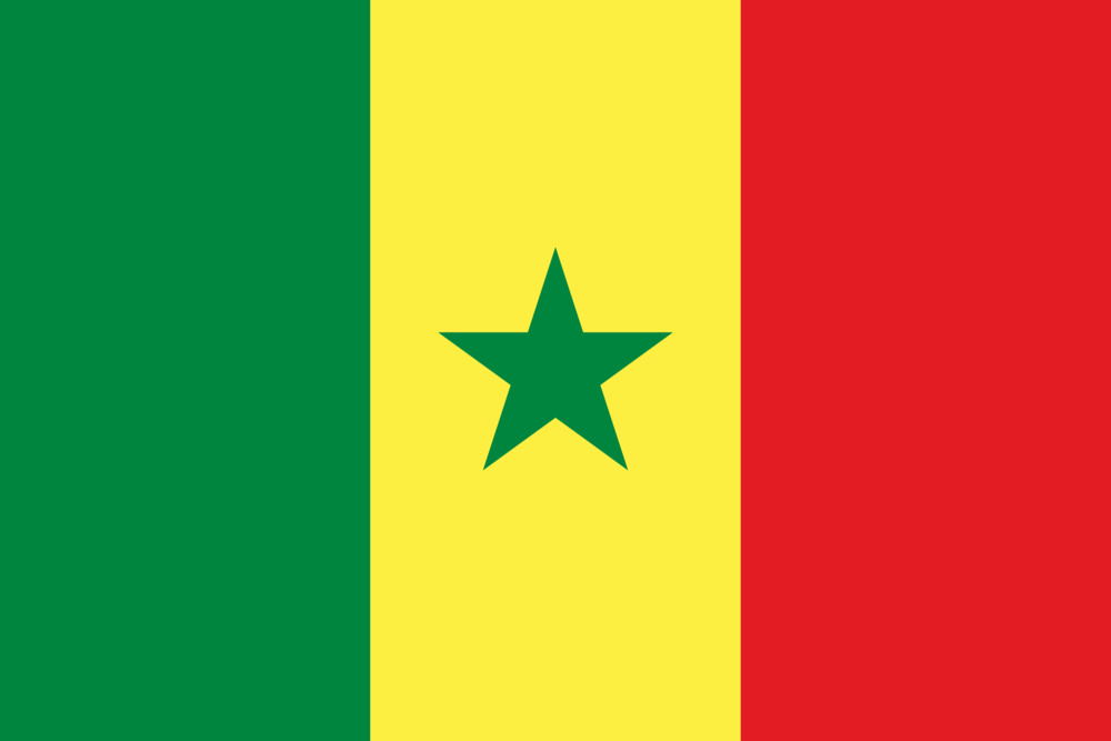 State flag of Senegal