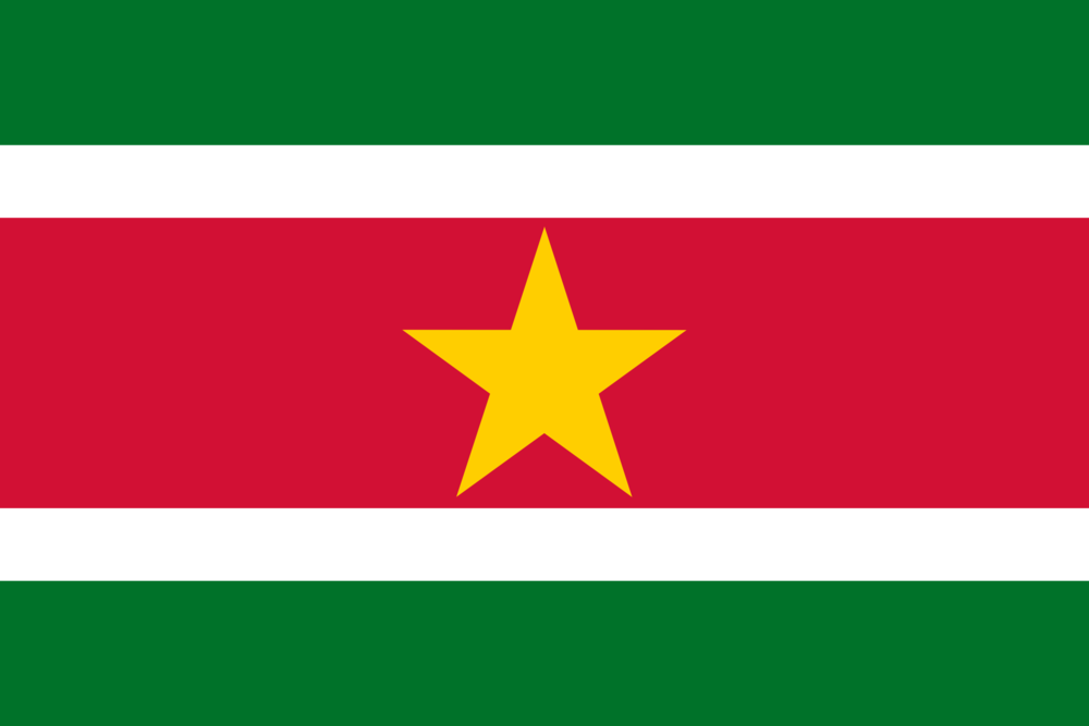 State flag of Suriname