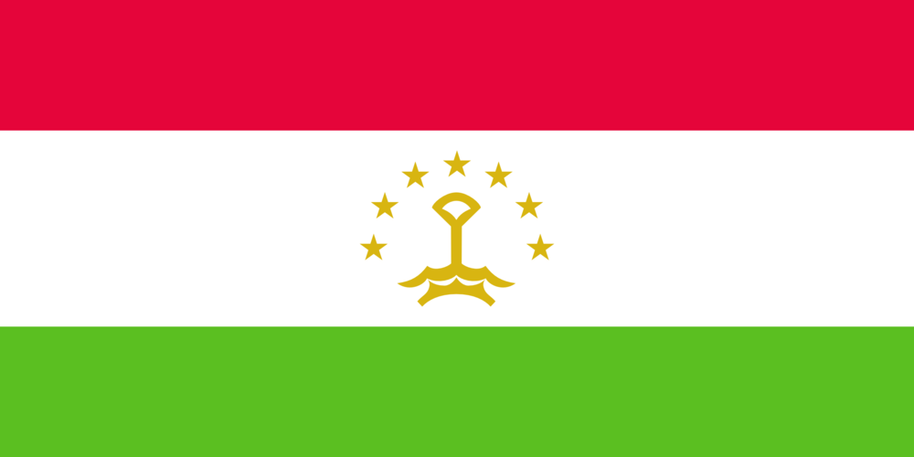State flag of Tajikistan