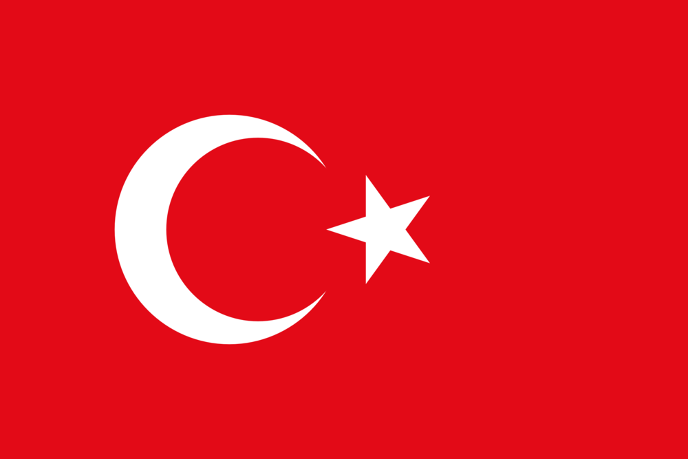 State flag of Turkey