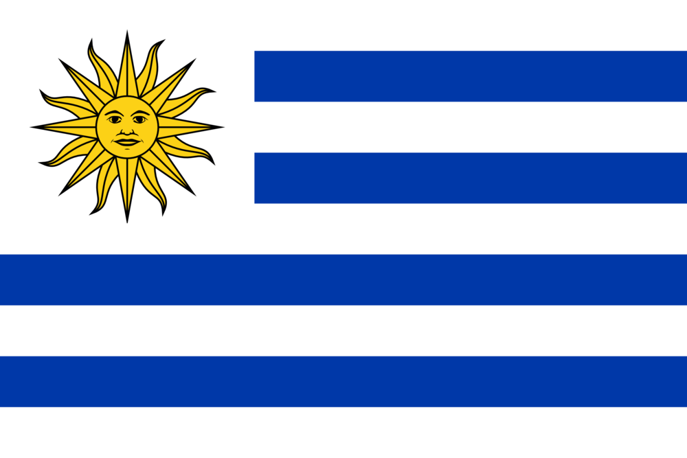 State flag of Uruguay