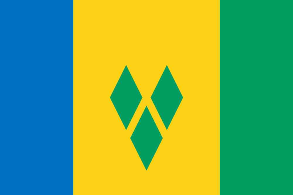 State flag of Saint Vincent and the Grenadines