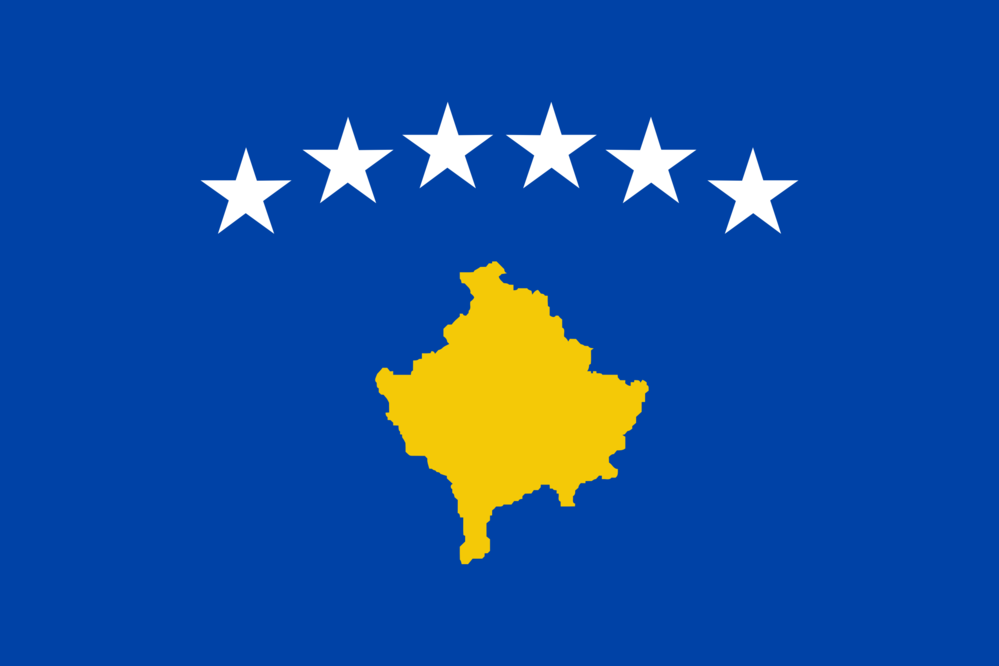 State flag of Kosovo